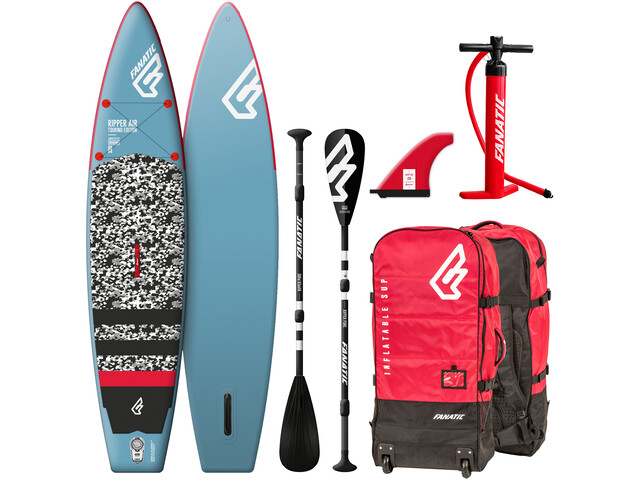 """Fanatic Ripper Air Touring Paquete 10'0"""" Tabla Stand Up Inflable con Palas y Bomba"""